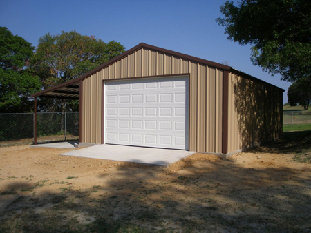 Metal Shed Building Service