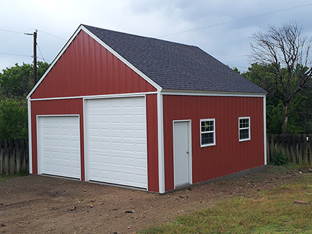 outbuildings and storage sheds