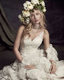 Bridal Veil and Gown