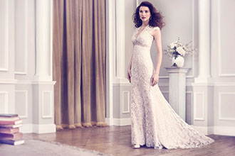 Backless Designer Wedding Gown