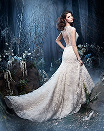 Enchanting Design Bridal Dress