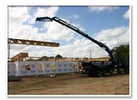 127 ft Crane Service