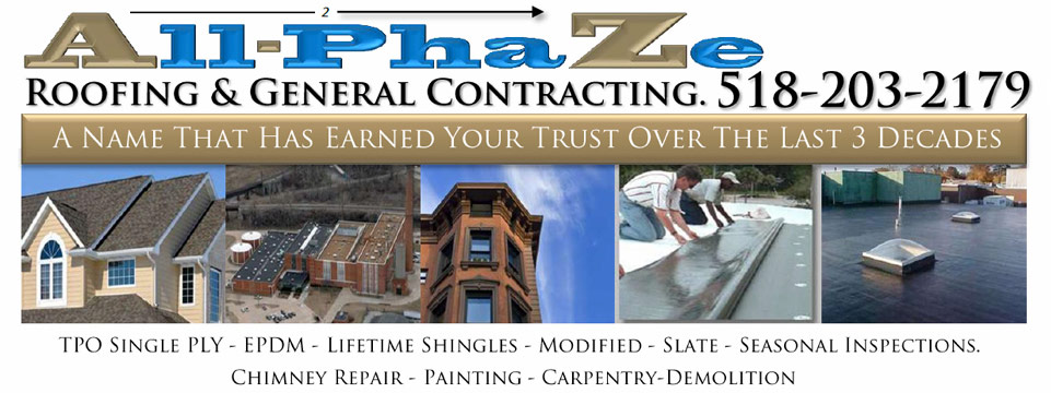 General Contractor Albany  Roofer and General Contractor