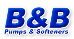 B & B Pumps & Softeners Logo