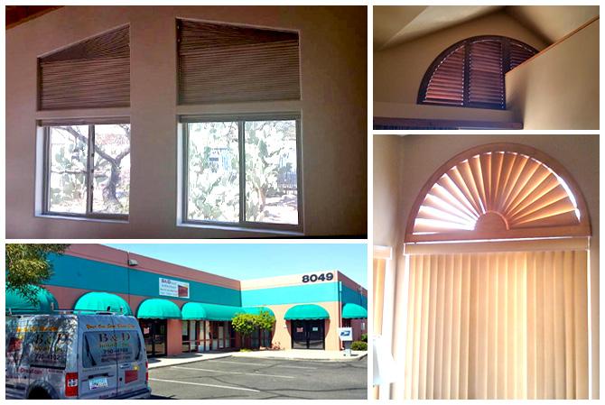 B D Install Custom Blinds Tucson Az Motorized