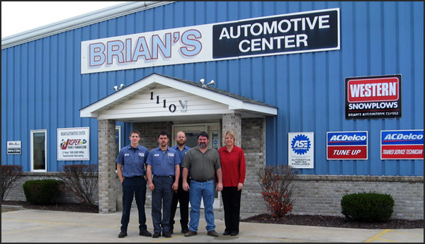 Brian's Automotive's Employees