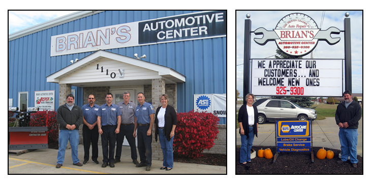 Brian's Automotive Repair Team