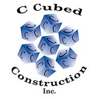 C Cubed Construction Logo