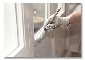 Painting Trim Work