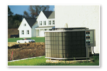 Residential Home With Air Conditioning System