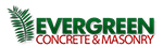 Evergreen Concrete Logo
