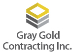 Gray Gold COntracting Logo