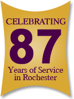 87 Years of Service in Rochester
