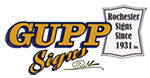 Gupp Signs Logo