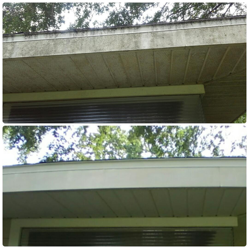 roof power washing