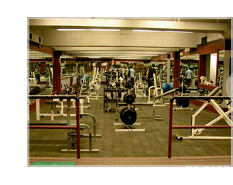 Weight Room At Fitness Center