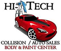 Hi-Tech Collision & Auto Sales Logo