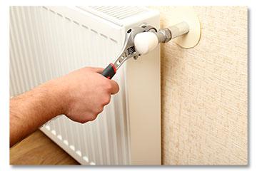 HVAC Contractor Providing Heating Repairs