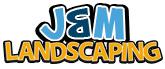 J & M Landscaping Logo