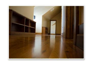 Hallway wood
