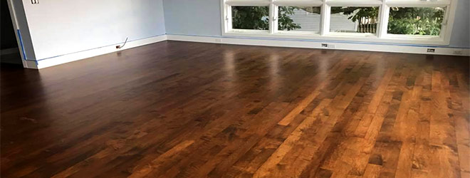 Hardwood Floor Refinished