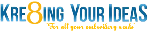 Kre8ing Your Ideas Logo