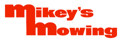 Mikeys Mowing Logo