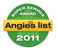 Angies List 2011 Badge