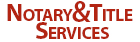Notary & Title Services Logo