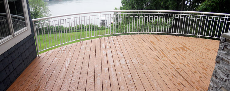 Deck Staining and Sealing