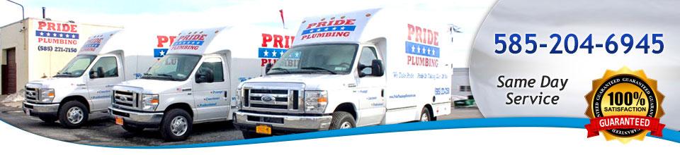 Prude plumbing trucks