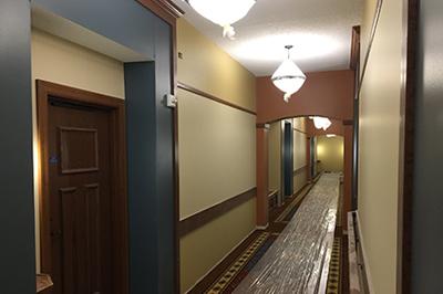 Interior Hotel Hall