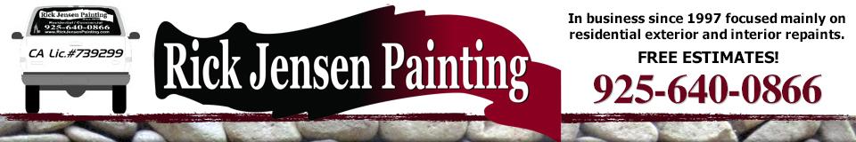 Rick Jensen Painting Logo