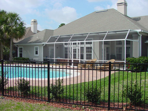 Aluminum Pool Fence