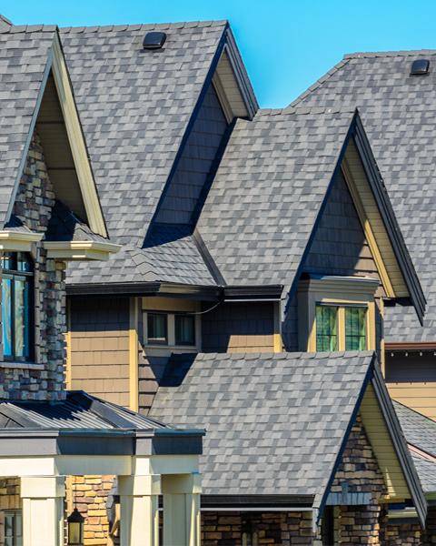 Shingle Roofing on Homes