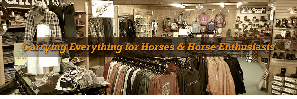 Western and Horse Enthusiast Store Interior