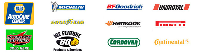 Auto Part and Tire Brands