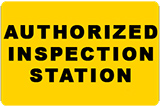 Maryland Authorized Inspection Station Badge