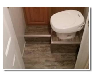Bathroom Floor After