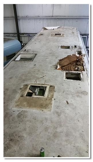 Motorhome Roof repairs