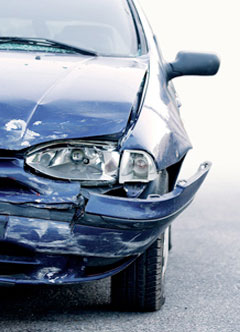 Car With Collision Damage