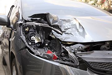 Collision Damaged Vehicle