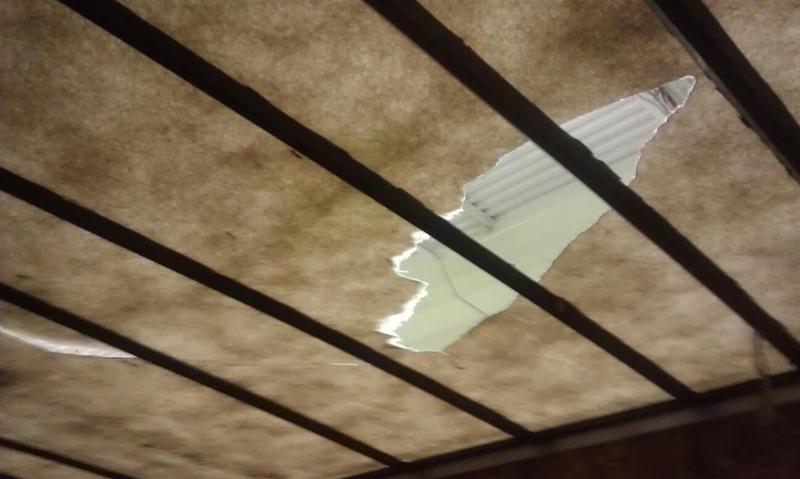 tractor trailer roof repair