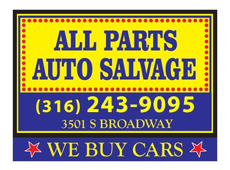 All Parts Auto Salvage | Auto Parts Wichita KS